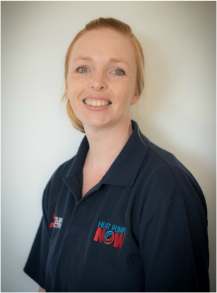 Heat Pumps NOW Christchurch Office Administrator Emily Ashdowne