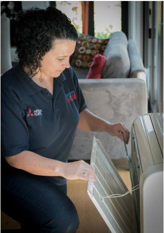 Regularly cleaning your heat pump will help it run more efficiently, so your investment property stays warm and dry.