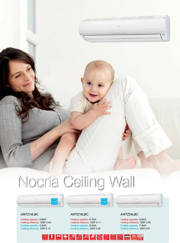 Fujitsu Nocria Heat Pumps help keep you cool and hayfever free during Christchurch spring.